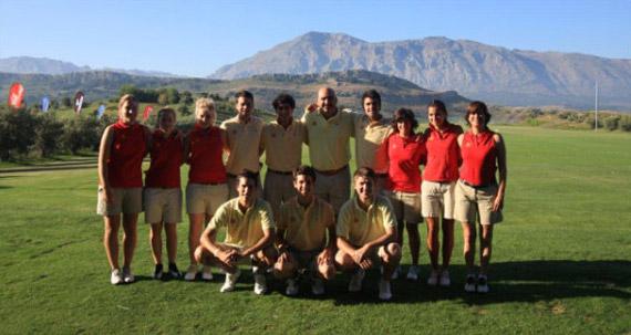 Los equipos españoles del Mundial Universitario 2010