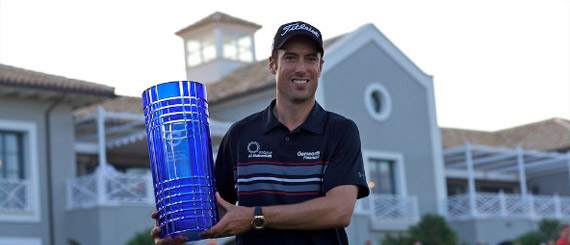 Ross Fisher, campeón del Volvo World Match Play 2009 (foto de Michael Denker/Golffoto.es)