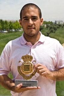 Miguel Cantero, ganador en Jardín de Aranjuez