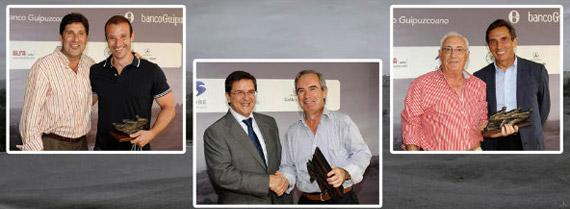 Ganadores del torneo del Banco Guipuzcoano