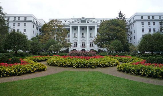 No es la Casa Blanca, es la The Golf Club de The Greenbrier