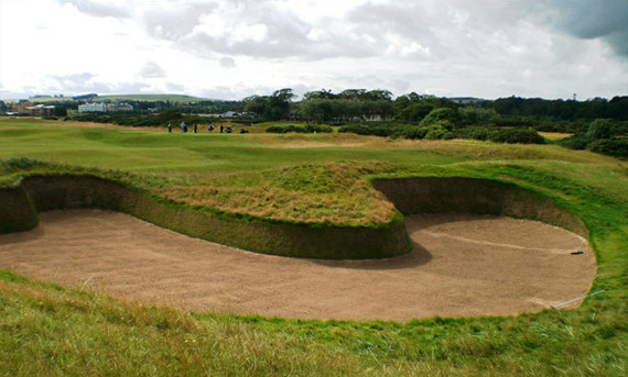 The Hell Bunker (14, Old Course)