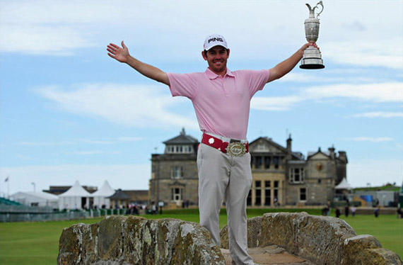 Louis Oosthuizen, the 2010 Open Champion