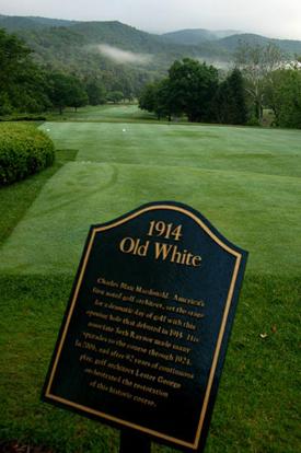 The Old White Course, una reliquia de 1914