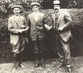 Vardon, Ouimet y Ray