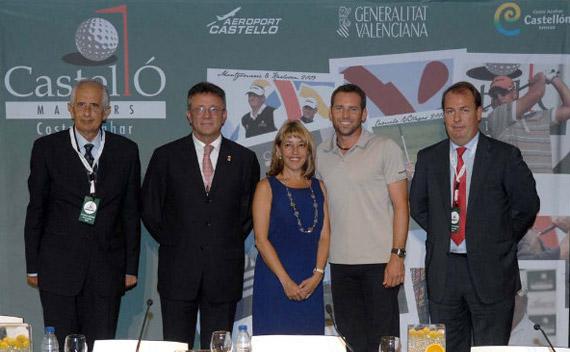 Juan Antonio Grau, Vicente Aparici, Trini Miró, Sergio García y Javier Gervás (foto de Luis Corralo)