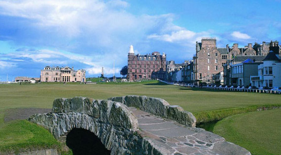 The Swilcan Bridge (18, Old Course)