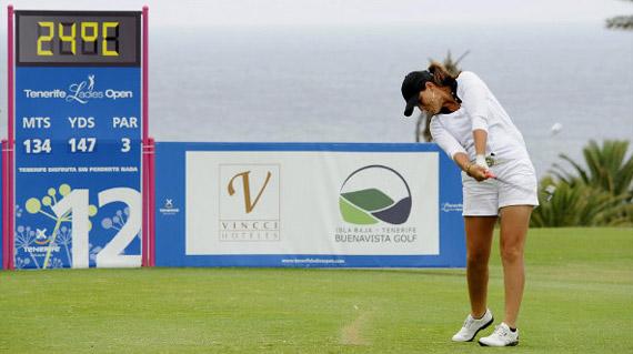 Laura Cabanillas, la mejor española en Tenerife (foto de Felipe Pérez)