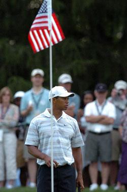 El patriota Tiger Woods