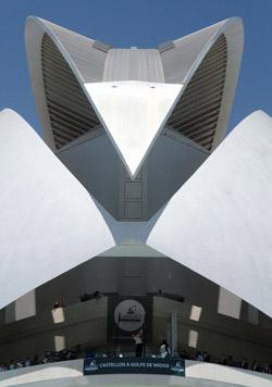 Impresionante vista del Palau de les Arts Reina Sofía (foto de Luis Corralo)