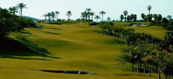 Panorámica de Abama Golf