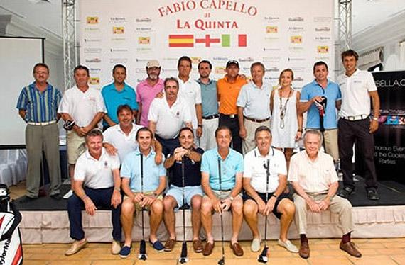Ganadores del Torneo de Capello en La Quinta