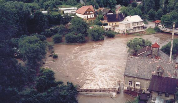 Las inundaciones de Chequia de 1997