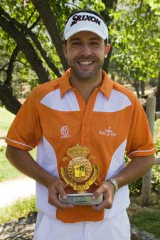 Ismael del Castillo, ganador de la prueba de La Herrería