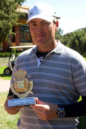 Álvaro Salto, ganador de la prueba del Circuito de Madrid de Profesionales en Lerma