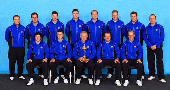 El equipo europeo de la Ryder Cup