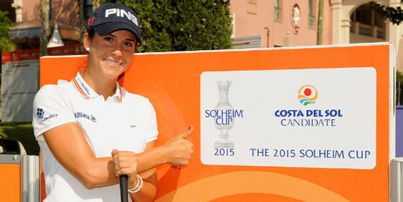 Azahara Muñoz apuesta por la Solheim Cup en la Costa del Sol (foto de Felipe Pérez)