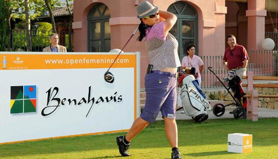 Christina Kim en el pro-am del Open de España Femenino (foto de Felipe Pérez)