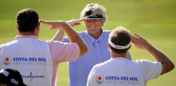 Laura Davies, líder del Open de España Femenino tras la segunda jornada (foto de Felipe Pérez)