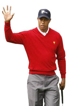 Tiger Woods acudirá gracias a la invitación de Corey Pavin