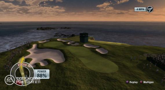 Los campos más emblemáticos del mundo, en Tiger Woods PGA Tour 11