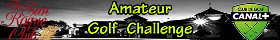 Cabecera del Amateur Golf Challenge