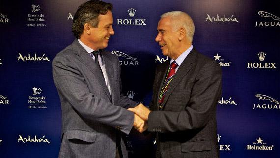 Felipe Ortiz-Patiño y Luciano Alonso (foto de golffoto.es)