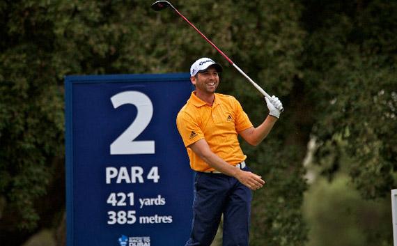 Sergio García recupera la sonrisa en Valderrama (foto de golffoto.es)
