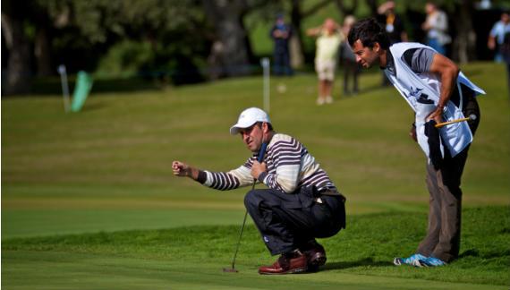 José María Olazábal, primer top ten tras su vuelta a la actividad (foto de golffoto.es)