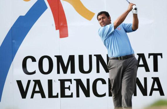 Ricardo González, colíder tras la primera jornada (foto de Luis Corralo)