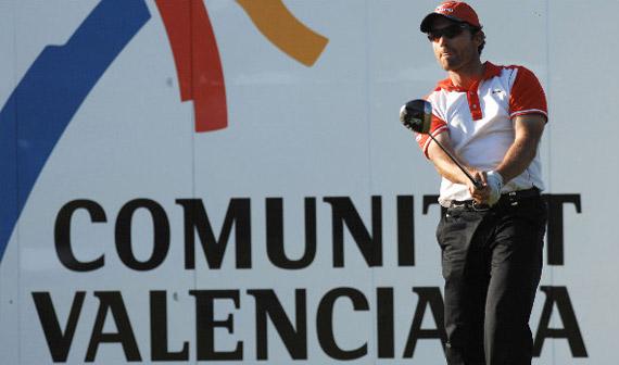 Nacho Garrido, mejor español en el Castelló Masters (foto de Luis Corralo)
