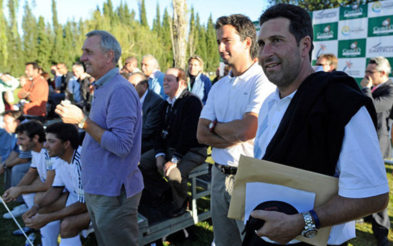Ni Johan Cruyff se quiere perder el Castelló Masters