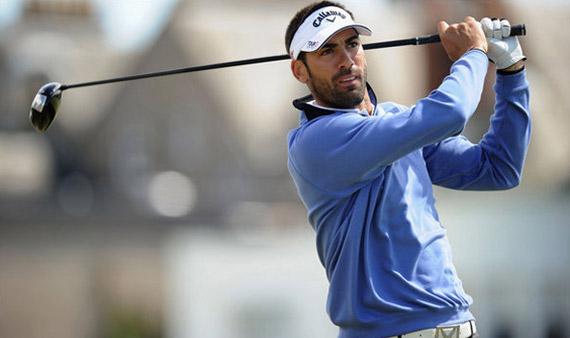 Quirós quiere volver a la élite del golf mundial
