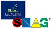 Logotipo de SNAG en el Benahavís Senior Masters
