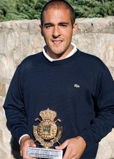 Miguel Cantero, ganador en La Hípica