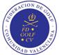Logotipo de la Federación de Golf de la Comunidad Valenciana