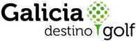 Logotipo de Galicia destino Golf