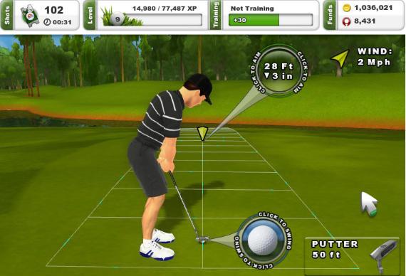 Interfaz intuitiva y facilidad de uso en el nuevo PGA TOUR Golf Challenge