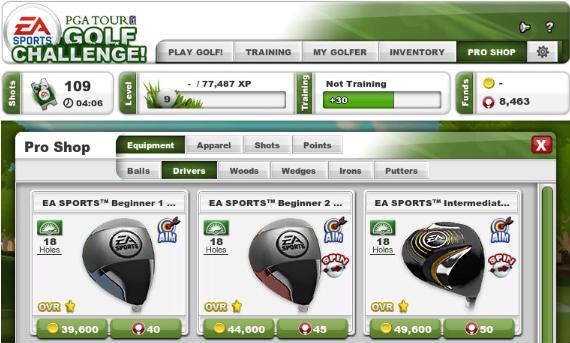 Los aficionados también podrán sofocar su fiebre consumista en el juego