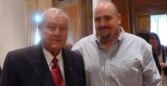 Arnold Palmer y Óscar Díaz