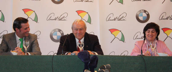Arnold Palmer, todo un caballero (foto de Francisco José Sastre)