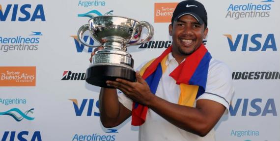 Jhonattan Vegas gana el Open de Argentina