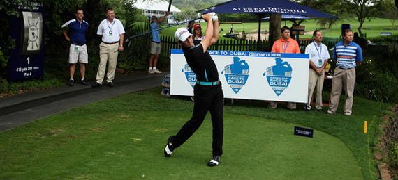 Lee Slattery dio el primer golpe de la temporada 2011 del European Tour