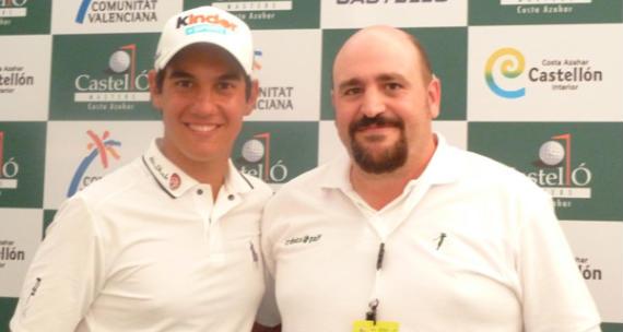 Matteo Manassero, rookie del año del European Tour, con el que esto suscribe