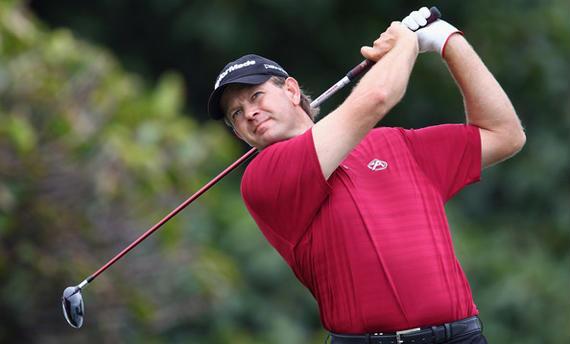 Retief Goosen, todo un majorista y sponsor del South African Open