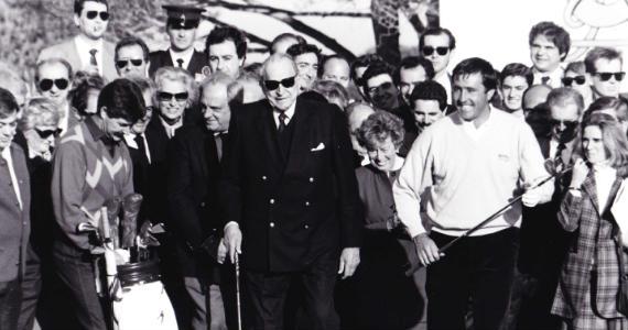 Inauguración Novo Sanctipetri 1990