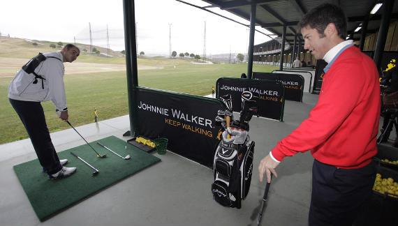 Jorge Campillo imparte sus conocimientos en el clinic del Torneo Hándicap by Johnnie Walker