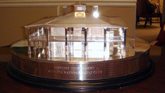 """La réplica del trofeo del Masters, """"solo"""" por 140.000 $"""