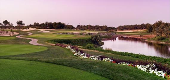 El Abu Dhabi Golf Course, impecable aunque sencillo