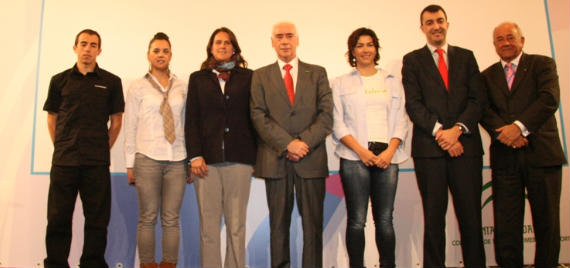 Presentación de los acontecimientos deportivos Andalucía 2011